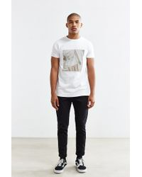 ourCaste - White Correi Tee for Men - Lyst