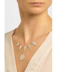 Brooke Gregson - Metallic Gemini 14-Karat Gold Diamond Necklace - Lyst