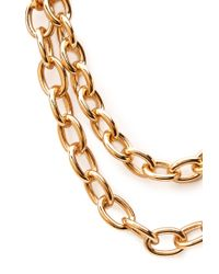 Forever 21 - Metallic Chunky Layered Chain Necklace - Lyst