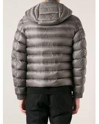 Moncler - Gray Edward Padded Jacket for Men - Lyst