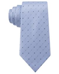 Kenneth Cole Reaction - Blue Iridescent Dot Slim Tie for Men - Lyst
