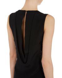 Maiyet - Black Beaded Silk Tunic - Lyst