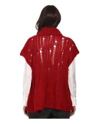 Vivienne Westwood Anglomania | Red Square Jumper | Lyst