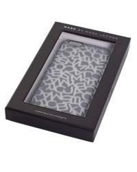 Marc Jacobs Black Scrambled Logo Iphone 6 Case