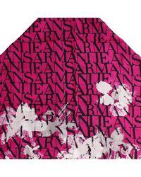Armani Jeans | Purple Scarf | Lyst