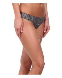 Under Armour | Gray Pure Stretch Thong | Lyst