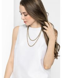 BaubleBar - Metallic Double Boucher Strands - Lyst