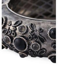 DSquared² | Metallic Embellished Bangle | Lyst