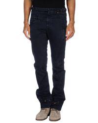 Neil Barrett - Blue Casual Trouser for Men - Lyst
