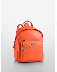 Calvin Klein - Orange White Label Hailey City Backpack - Lyst