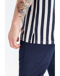 Your Neighbors - Blue Vertical Stripe Tee for Men - Lyst