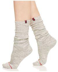 Tommy Hilfiger | Gray Boyfriend Socks | Lyst