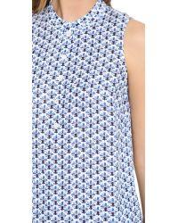 Tory Burch - Gray Baja Dress - Lyst