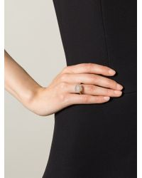Wouters & Hendrix | Metallic Grey Agate Ring | Lyst