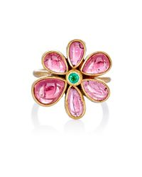 Judy Geib | Metallic Women's Wildflower Ring | Lyst