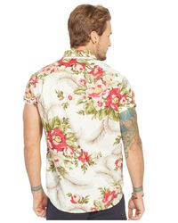 Denim & Supply Ralph Lauren | Multicolor Floral Poplin Sport Shirt for Men | Lyst