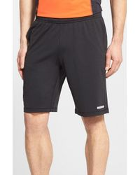 BPM Fueled by Zella | Black 'pyrite' Lightweight Knit Running Shorts for Men | Lyst
