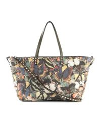 Valentino | Multicolor 'Camubutterfly' Tote | Lyst