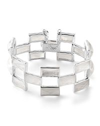 Ippolita | Metallic 925 Rock Candy Mosaic Bracelet In Clear Quartz/mother-of-pearl | Lyst