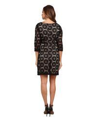 RSVP | Black Sunshine A-line Woven Lace Dress | Lyst