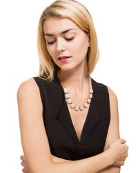 BaubleBar - White Astaire Pearl Collar - Lyst