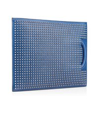 Christian Louboutin | Blue Trictrac Large Portfolio | Lyst