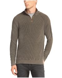 BOSS Orange - Green Sweater 'kincent' In Cotton Blend for Men - Lyst