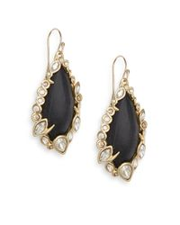 Alexis Bittar | Black Imperial Lucite & Crystal Lace Drop Earrings | Lyst
