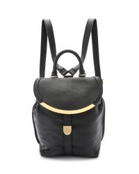 See By Chloé | Black Lizzie Backpack - Cappuccino | Lyst