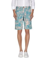 Jaggy - Blue Bermuda Shorts for Men - Lyst