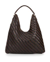 Sondra Roberts | Brown Woven Hobo Bag | Lyst