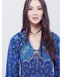 Free People - Blue Spell & The Gypsy Collective Womens Kiss The Sky Bell Sleeve - Lyst