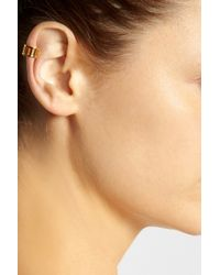 Arme De L'Amour | Metallic Gold-Plated Ear Cuff | Lyst