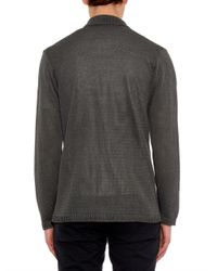 Inis Meáin - Gray Washed-Linen Pub Jacket for Men - Lyst