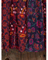 Free People - Multicolor Vintage Printed Dress - Lyst