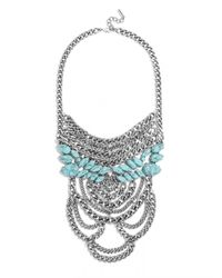 BaubleBar - Multicolor Eleanor Chain Bib - Lyst