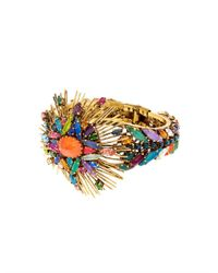 Erickson Beamon | Metallic Telepathic Crystal & Gold-Plated Cuff | Lyst