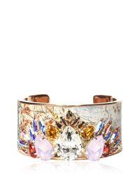 Bijoux De Famille - White Zodiac Cuff Bracelet - Lyst