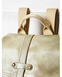 Free People - Green Jericho Backpack - Lyst