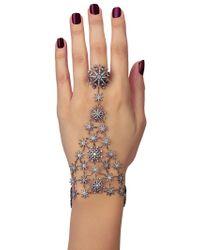 Colette | Metallic Stars Hand Bracelet | Lyst