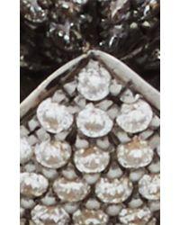 Noor Fares   Metallic Gold And Diamond Geometry 101 Merkaba Ring   Lyst
