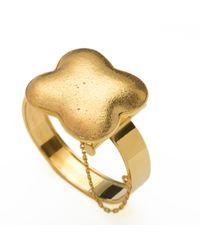 Wagner Arte - Metallic Gold Colosseum Bracelet - Lyst