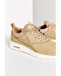 4117b8ce251a69 Lyst - Nike Air Max Thea Premium Sneaker in Brown
