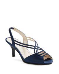 Caparros | Blue Philomena Slingback Sandals | Lyst