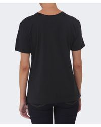Vivienne Westwood Anglomania - Black Studded Orb T-shirt - Lyst