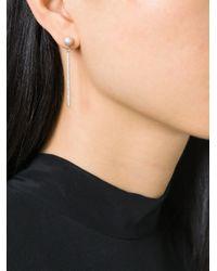 Carolina Bucci | Metallic 'mirador' Sparkly Stud Drop Earrings | Lyst