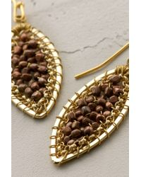 Anthropologie | Metallic Nanami Teardrop Earrings | Lyst