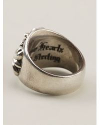 Chrome Hearts | Metallic Baroque Engraved Ring | Lyst