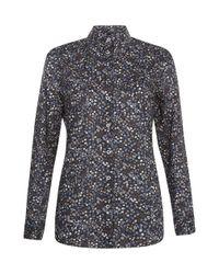 Hobbs | Blue Kilnwick Shirt | Lyst
