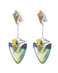 Alexis Bittar | Multicolor Desert Deco Flint Clip Earring | Lyst